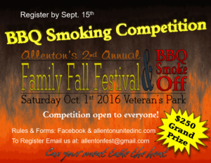 Allenton United 2nd Annual Family Fall Festival and BBQ Smoke Off @ Veterans Memorial Park | Kewaskum | Wisconsin | United States